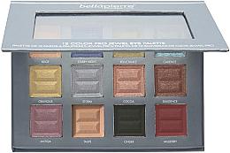 Parfémy, Parfumerie, kosmetika Paleta očních stínů - Bellapierre 12 Color Pro Jewel Eye Palette