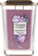 Parfémy, Parfumerie, kosmetika Vonná svíčka - Yankee Candle Elevation Sugared Wildflowers