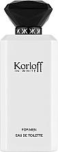 Parfémy, Parfumerie, kosmetika Korloff Paris Korloff In White - Toaletní voda