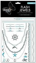 Parfémy, Parfumerie, kosmetika Flash tetování Moře - Dizao Flash Jewels