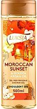 Parfémy, Parfumerie, kosmetika Sprchový gel - Luksja Moroccan Sunset & Golden Argan Oil Shower Gel