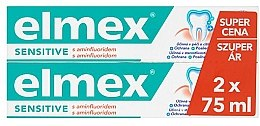 Parfémy, Parfumerie, kosmetika Sada - Elmex Sensitive Toothpaste (toothpaste/2x75ml)
