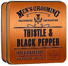 Parfémy, Parfumerie, kosmetika Scottish Fine Soaps Men's Grooming Thistle & Black Pepper - Mýdlo