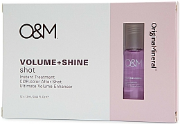 Parfémy, Parfumerie, kosmetika Přípravek pro lesk a objem vlasů - Original & Mineral Volume + Shine Instant Shot Treatment
