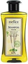 Parfémy, Parfumerie, kosmetika Šampon na vlasy Bohatý objem s keratinem a extraktem medu - Melica Organic Volume Shampoo