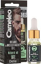 Parfémy, Parfumerie, kosmetika Olej na bradu - Delia Cameleo Men Beard and Moustache Oil