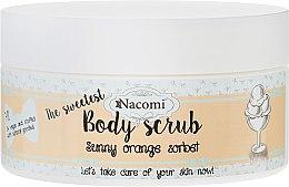 """Parfémy, Parfumerie, kosmetika Tělový peeling """" Pomerančový sorbet"""" - Nacomi Sunny Orange Sorbet Body Scrub"""