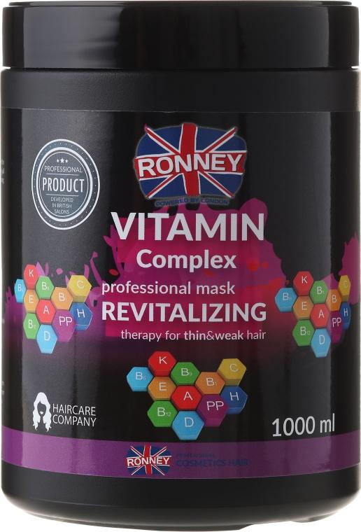 Maska na vlasy - Ronney Vitamin Complex Revitalizing Therapy Mask