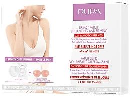Parfémy, Parfumerie, kosmetika Náplasti na zpevnění a zvětšení objemu poprsí - Pupa Breast Patch Enhancing and Firming Set