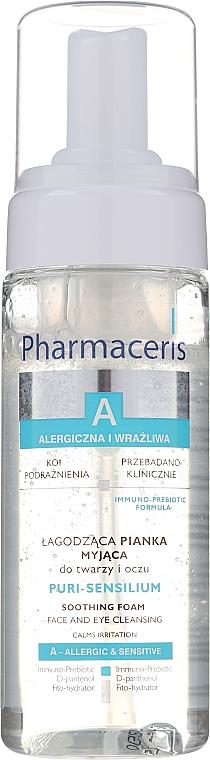 Jemná čisticí pěna - Pharmaceris A Puri Sensilium Soothing Foam — foto N1