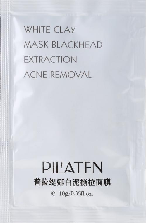 """Maska na obličej """"Bílá hlína"""" - Pilaten White Clay Mask Blackhead Extraction Acne Removal (vzorek)"""