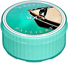 Parfémy, Parfumerie, kosmetika Čajová svíčka - Kringle Candle Aqua Daylight
