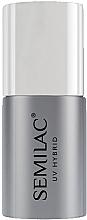Parfémy, Parfumerie, kosmetika Top pro UV lak na nehty bez lepicí vrstvy - Semilac Top No Wipe Sparkle Diamond