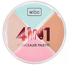 Parfémy, Parfumerie, kosmetika Paleta korektorů na obličej - Wibo 4in1 Concealer Palette