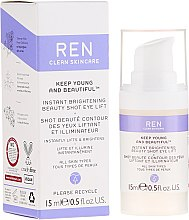 Parfémy, Parfumerie, kosmetika Liftingový krém-gel pro konturu očí s efektem záři - Ren Keep Young And Beautiful
