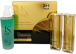 Parfémy, Parfumerie, kosmetika Sada - Fytofontana Stem Cells Pigment Set (ser/30ml + emulsion/30ml + wat/125ml)