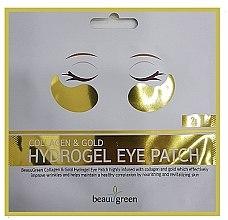 Parfémy, Parfumerie, kosmetika Hydrogelové náplasti na oči - BeauuGreen Collagen & Gold