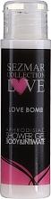 Parfémy, Parfumerie, kosmetika Sprchový gel - Sezmar Collection Love Love Bomb Aphrodisiac Shower Gel (mini)