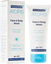 Parfémy, Parfumerie, kosmetika Prostředek na mytí obličeje a těla - Novaclear Atopis Face&Body Wash