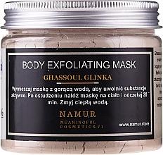 Parfémy, Parfumerie, kosmetika Tělová maska s marockým jílem Ghassoul - Namur Body Exfoliating Ghassoul Clay