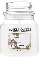 Parfémy, Parfumerie, kosmetika Svíčka ve skleněné nádobě - Yankee Candle Shea Butter