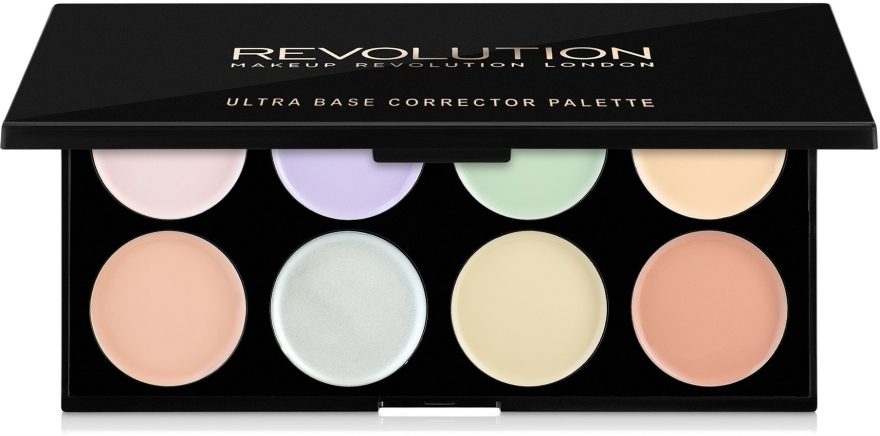 Paleta korektorů na obličej - Makeup Revolution Ultra Base Corrector Palette — foto N1