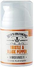Parfémy, Parfumerie, kosmetika Hydratační přípravek po holení - Scottish Fine Soaps Mens Grooming Thistle & Black Pepper Moisturiser