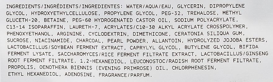 Látková čisticí maska pro obličej s aktivovaným uhlím, probiotiky a sérem - Freeman Beauty Infusion Cleansing Clay Mask Charcoal & Probiotics — foto N3