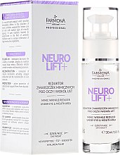 Parfémy, Parfumerie, kosmetika Oční krém - Farmona Professional Neuro Lift+ Mimic Wrinkle Reducer