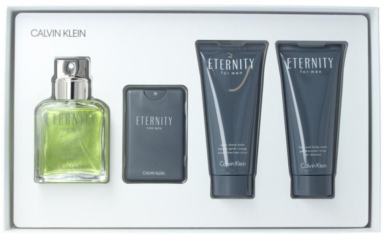 Calvin Klein Eternity For Men - Sada (edt/100ml + ash/b/100ml + edt/20ml + sh/gel/100ml) — foto N2