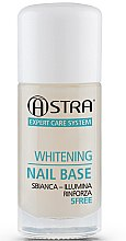 Parfémy, Parfumerie, kosmetika Podkladová báze pod lak - Astra Make-up Whitening Nail Base