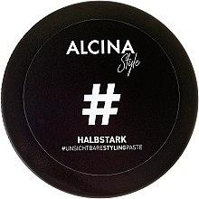 Parfémy, Parfumerie, kosmetika Neviditelná styling-pasta střední fixace - Alcina Style Halbstark