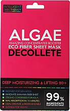 Parfémy, Parfumerie, kosmetika Expresní maska na dekolt - Beauty Face IST Deep Moisturizing & Lifting Decolette Mask Algae