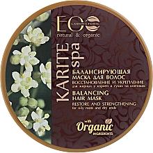 """Vyvažující vlasová maska """"Obnovení a posílení"""" - ECO Laboratorie Karite SPA Hair Mask — foto N2"""