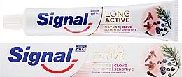 Parfémy, Parfumerie, kosmetika Zubní pasta - Signal Long Active Nature Elements Clove Sensitive