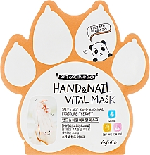 Parfémy, Parfumerie, kosmetika Vitamínová maska na ruce a nehty - Esfolio Hand & Nail Vital Mask