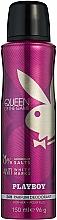 Parfémy, Parfumerie, kosmetika Playboy Queen of the Game - Tělový deodorant ve spreji