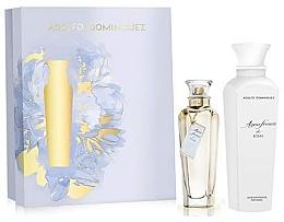 Parfémy, Parfumerie, kosmetika Adolfo Dominguez Agua Fresca de Rosas - Sada (edt/120ml + b/lot/300ml)