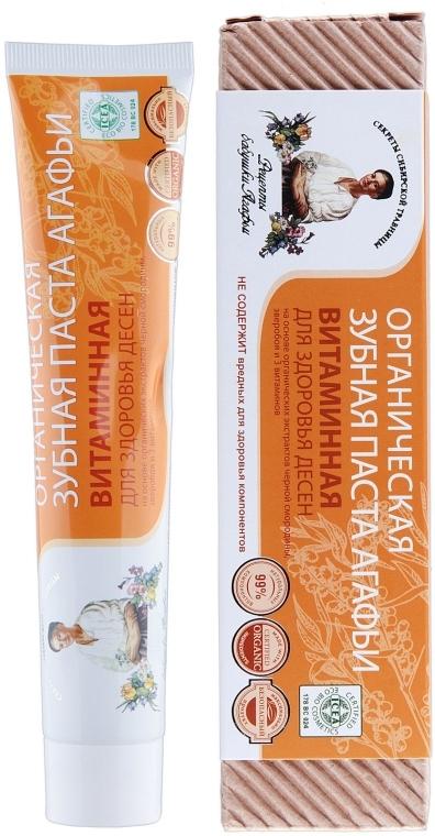 Vitaminová zubní pasta - Recepty babičky Agafyy