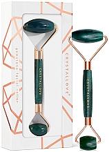 Parfémy, Parfumerie, kosmetika Masážní váleček na obličej - Crystallove Aventurine Roller