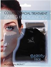 Parfémy, Parfumerie, kosmetika Kolagenová terapie s čokoládou - Beauty Face Collagen Hydrogel Mask