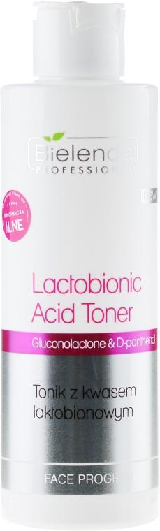 Tonikum na obličej s kyselinou laktobionovou - Bielenda Professional Program Face lactobionic Acid Toner — foto N1