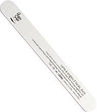 Parfémy, Parfumerie, kosmetika Pilník na nehty oboustranný, tvrdý 100/100, bílý - Peggy Sage 2-way Washable Hard Nail File