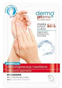 Regenerační maska-obklad na ruce - Dermo Pharma Skin Repair Expert S.O.S. Regeneration & Moisturizing Hand Mask — foto N1