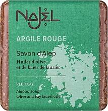 """Parfémy, Parfumerie, kosmetika Alepské mýdlo """"Červená hlína"""" - Najel Aleppo Soap with Red Clay"""