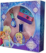 Parfémy, Parfumerie, kosmetika Air-Val International Disney Frozen - Sada (edt/30ml + key/ring + 2/bracelets)