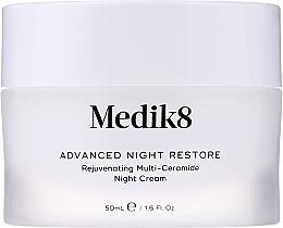 Parfémy, Parfumerie, kosmetika Omlazující noční pleťový krém s multi ceramidy - Medik8 Advanced Night Restore Rejuvenating Multi-Ceramide Night Cream
