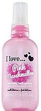 Parfémy, Parfumerie, kosmetika Osvěžující sprej na tělo - I Love... Pink Marshmallow Refreshing Body Spritzer