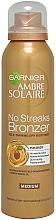 Parfémy, Parfumerie, kosmetika Samoopalovací sprej - Garnier Ambre Solaire No Streaks Bronzer Medium Self Tan Body Mist