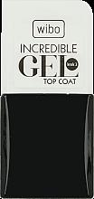 Parfémy, Parfumerie, kosmetika Vrchní lak na nehty - Wibo Incredible Gel Top Coat